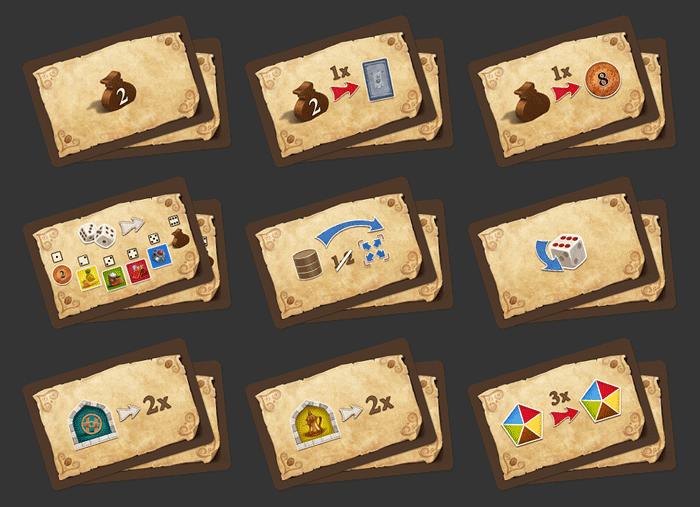 Mokka & Bakschisch - Neue Bonuskarten