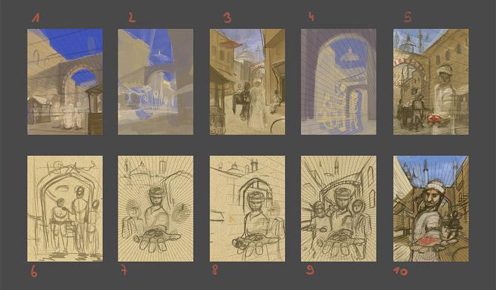 Istanbul - Cover Konzepte