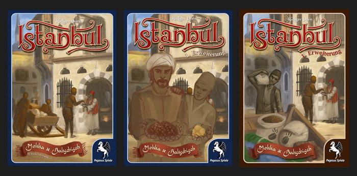 Istanbul - Konzepte für das Cover